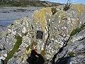 Uisken - memorial plaque on a rock - geograph.org.uk - 1182766.jpg