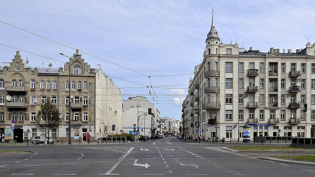 Ulica Ząbkowska przy Targowej