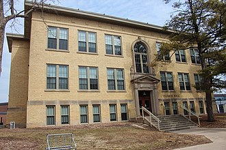 National Register of Historic Places listings in Grant County, Wisconsin - Image: Ullrich Hall Platteville
