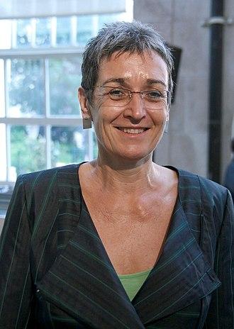 European Parliament election, 2014 (Austria) - Image: Ulrike Lunacek Wahlkampfauftakt Grüne Nationalratswahl 2013 Österreich 3