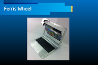 Ultrabook ferris wheel design