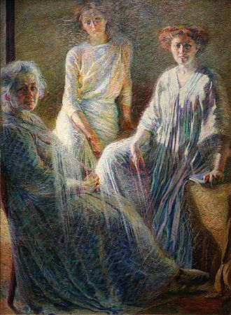 Umberto Boccioni - Three Women, 1909–10