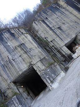 Underground stone quarry italy
