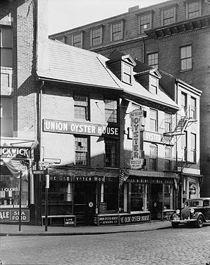 Union Oyster House - Image: Union Oyster House photograph