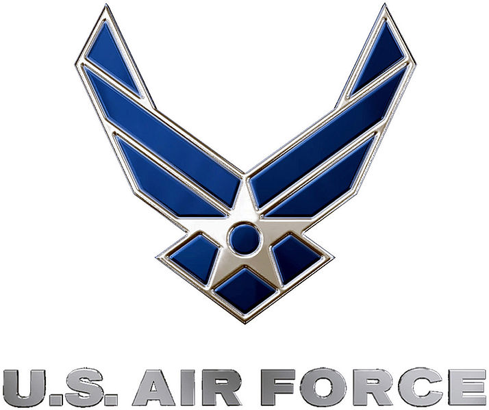 Description United States Air Force Logo Blue And Silverjpg