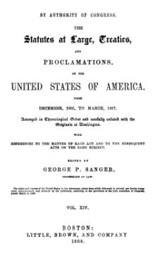 United States Statutes at Large Volume 14.djvu