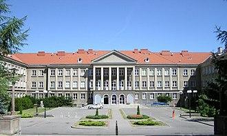University of Warmia and Mazury in Olsztyn - Image: Uniwersytet Warmińsko Mazurski w Olsztynie