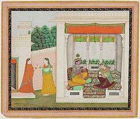 Story of Krishna and Radha