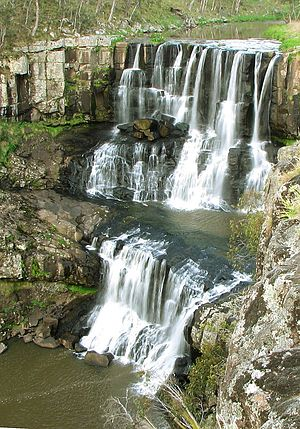 Ebor Falls - Image: Upper ebor falls small