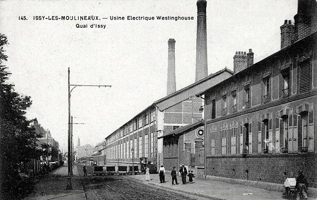 File usine electrique westinghouse quai d 39 issy issy les - Jardin botanique issy les moulineaux ...