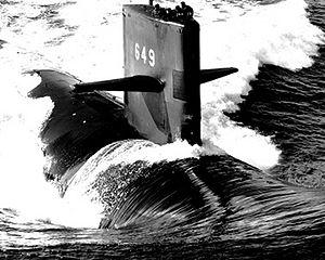 Uss sunfish ssn-649