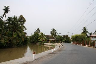 Gò Công Tây District District in Mekong Delta, Vietnam