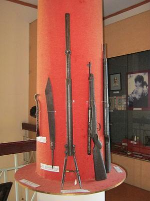People's Liberation Armed Forces of South Vietnam - Một số vũ khí của quân Giải phóng miền Nam Việt Nam