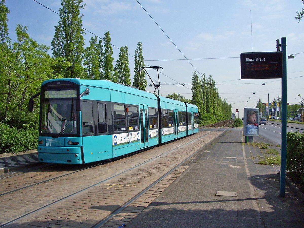 Straßenbahn Frankfurt am Main – Wikipedia