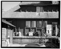 VIEW FROM WEST, SERVICE YARD - Bryce Canyon Lodge, Bryce Canyon, Garfield County, UT HABS UTAH,9-BRYCA,1-33.tif