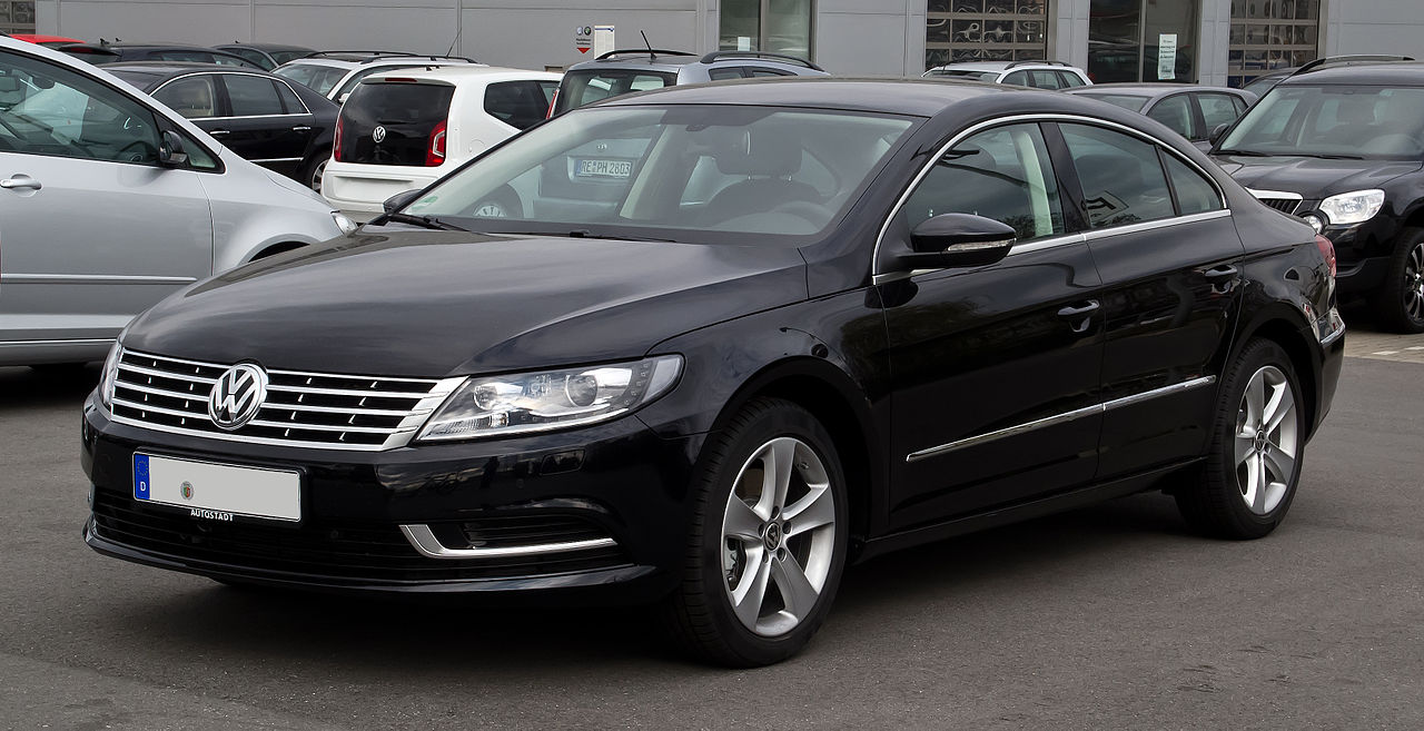 File:VW CC (Facelift) – Frontansicht, 1. April 2012, Essen ...