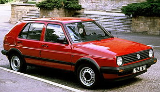 Volkswagen Golf Mk2 - 1987-89 Volkswagen Golf II 5-door (France)