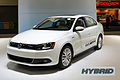VW Jetta Hybrid with badge WAS 2012 0711.jpg
