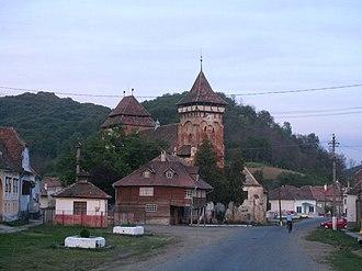 Valea Viilor - Image: Valea Viilor Centru
