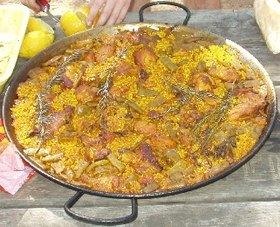 Image illustrative de l'article Paella