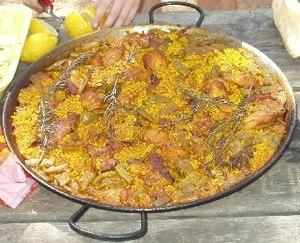 Saffron (use) - Image: Valencian Paella