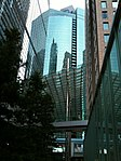 Valley of SIO-SITE skyscrapers (Shiodome NTV Tower, Shiodome City Center, and Shiodome Tower), SIO-SITE (2010-05-08 17.37.28).jpg