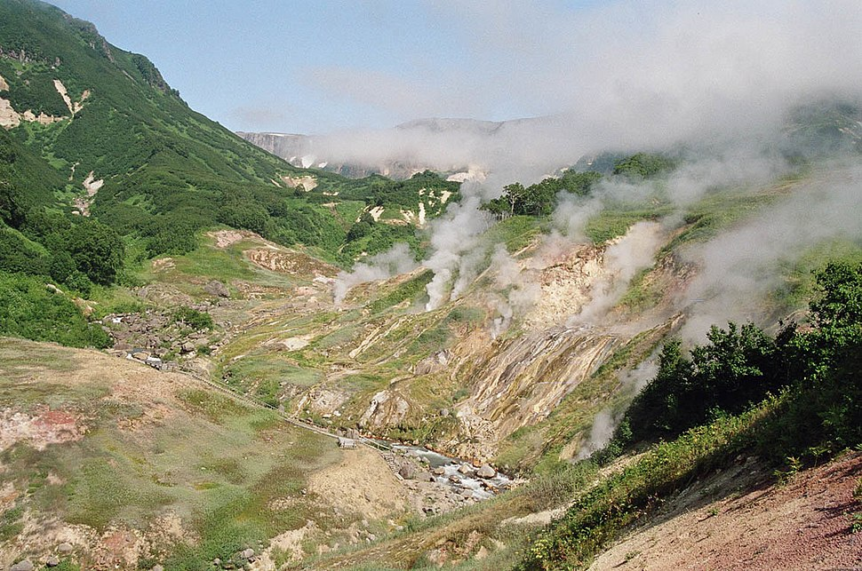 Valley of the Geysers