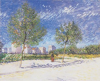 Outskirts of Paris (Van Gogh) - Image: Van Gogh Am Stadtrand von Paris 1