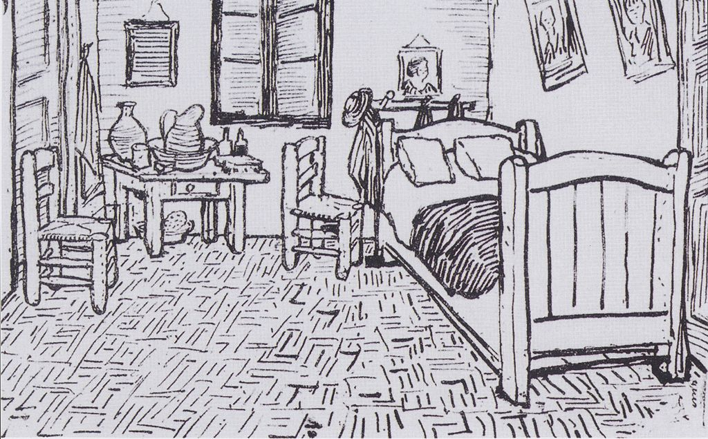 File:Van Gogh - Vincents Schlafzimmer In Arles.Jpeg - Wikimedia