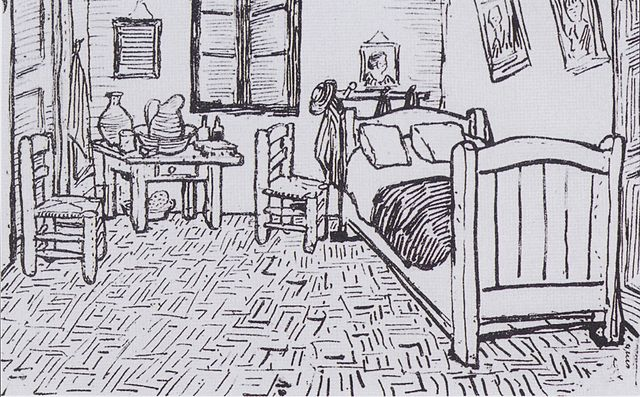 file:van gogh - vincents schlafzimmer in arles - wikimedia, Schlafzimmer ideen