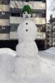Vanha Munkkiniemi snowman January 28 2012.png