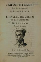 Varon Milanes de la lengua de Milan