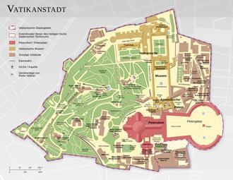 Vatican City map DE