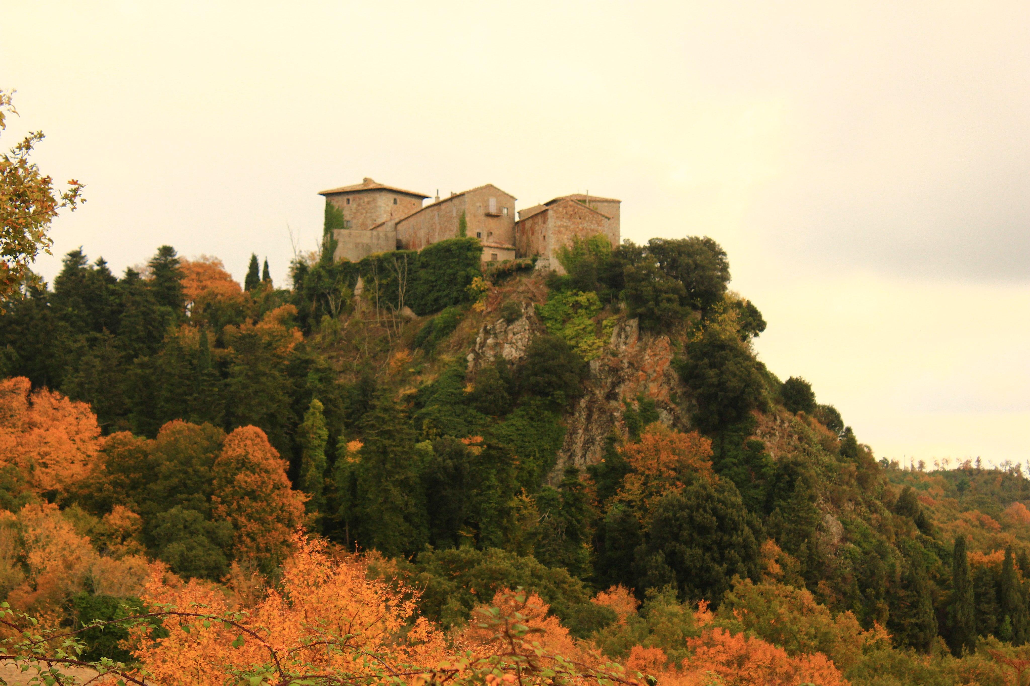 Veduta di Triana, Roccalbegna