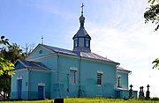 Velykyi Okorsk Lokachynskyi Volynska-Saint Michael church-south-west view.jpg
