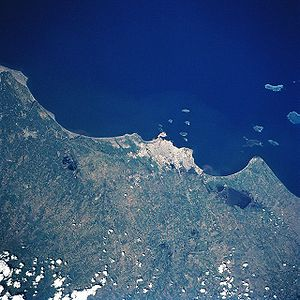 Veracruz from space, July 1997