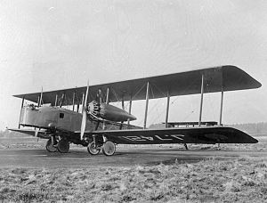 Vickers Virginia - Virginia X J7421 RAF Museum photo: PC73/100/16
