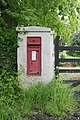 Victorian letterbox outside Flexford House, nr Sway - geograph.org.uk - 173648.jpg