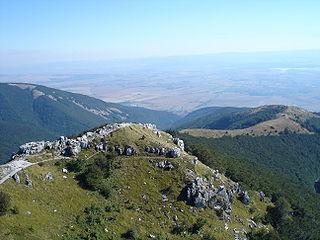 mountain pass in Bulgaria
