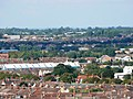 View north from Christ Church belfry, Cricklade Street, Swindon (2) - geograph.org.uk - 347611.jpg