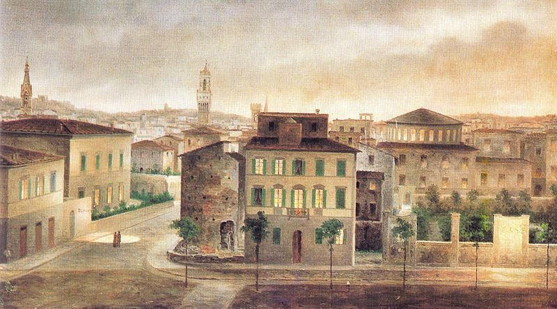 View of Ancient Florence by Fabio Borbottoni 1820-1902 (21).jpg