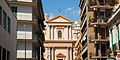 View of Chiesa di San Camillo Church as from the streets of Messina. Island of Sicily, Italy, Southern Europe.jpg