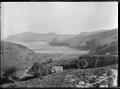 View of Hoopers Inlet, Otago Peninsula, ca 1925 ATLIB 274025.png