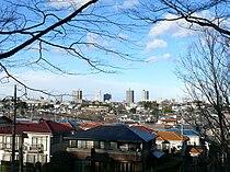 View of Tokorozawa from Hachikokuyama.jpg