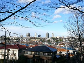 View of Tokorozawa from Hachikokuyama.jpg