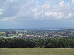 View of Winchcombe from near Belas Knap - geograph.org.uk - 1390299.jpg