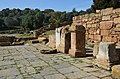 View of the Forum with bases of honorary inscriptions dedicated to the emperors and the great magistrates of the city, Sala Colonia (32946485476).jpg