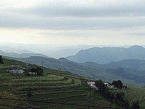 Piggs Peak - Image: View west near Piggs Peak in Swaziland