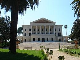 Villa Alba Roma Galleria Esedra