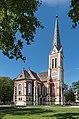 Villach Wilhelm-Hohenheim-Strasse Evangelische Pfarrkirche 07092015 7147.jpg